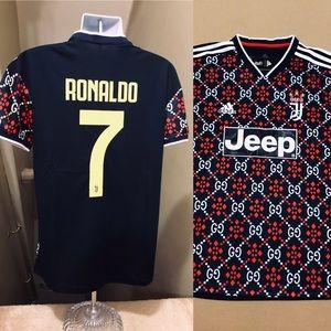 brand new 0b743 75b50 Juventus Concept GG Ronaldo #7 Soccer Jersey Gucci NWT